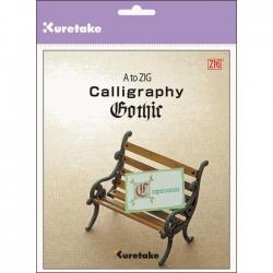 Zig - A to Zig Calligraphy Gothic Kaligrafi Kitabı