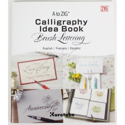 Zig - Zig Calligraphy Idea Book Brush Lettering Fude Pens