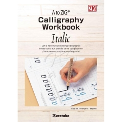 Zig - A to Zig Calligraphy Idea Workbook Italic INWB 201-801