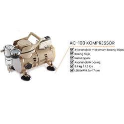 Copic - AC-100 Kompressör