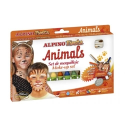 Alpino - Alpino Fiesta Animals Make up Set Yüz Boyama Seti