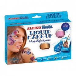 Alpino - Alpino Fiesta Liquid Make-Up Sıvı Yüz Boyası