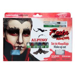 Alpino - Alpino Fiesta Monsters Make Up Set Yüz Boyama Seti 6lı