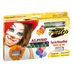 Alpino - Alpino Mega Fiesta Make Up Set Yüz Boyama Seti