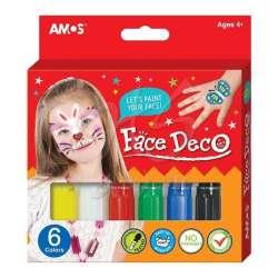 Amos - Amos Face Deco Yüz Boyası 6lı