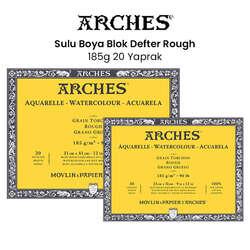 Arches - Arches Sulu Boya Blok Defter Rough 185g 20 Yaprak