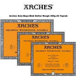 Arches - Arches Sulu Boya Blok Defter Rough 300g 20 Yaprak