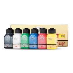 Artdeco - Artdeco Akrilik Boya Seti 6x75ml Canlı Renkler (1)