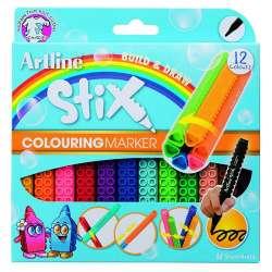 Artline - Artline Stix Colouring Marker Keçeli Kalem 12li
