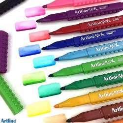 Artline - Artline Stix Colouring Marker Keçeli Kalem 12li (1)