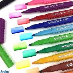 Artline - Artline Stix Colouring Marker Keçeli Kalem 20li (1)
