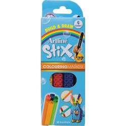 Artline - Artline Stix Colouring Marker Keçeli Kalem 4lü