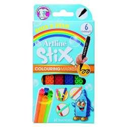 Artline - Artline Stix Colouring Marker Keçeli Kalem 6lı