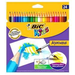 Bic - Bic Kids Aquacouleur Kuru Sulu Boya 24 Renk 313188146