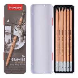 Bruynzeel - Bruynzeel Expression Graphite Dereceli Kalem 6lı Set