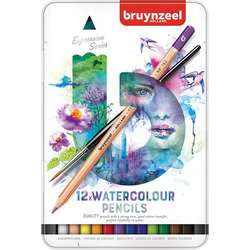 Bruynzeel - Bruynzeel Expression Series Sulu Boya Kalem Seti 12li 60313012