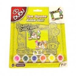BuBu - BuBu Cam Boyama Seti Happy Birthday (1)