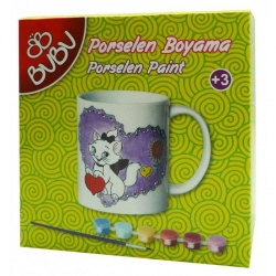 BuBu - BuBu Porselen Boyama Seti