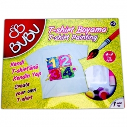 BuBu - BuBu T-Shirt Boyama Seti (1)