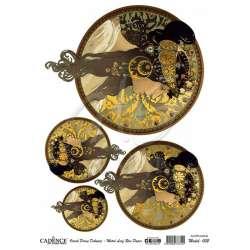 Cadence - Cadence Altın Varak Pirinç Dekopaj A3 Model:002