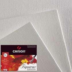 Canson - Canson Figueras Çizim Kağıdı Canvas Grain 50x65cm 290g 10lu
