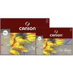 Canson - Canson Mi-Teintes Pastel Defteri Gri Tonlar 30 Yaprak 160g