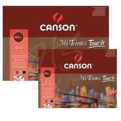 Canson - Canson Mi-Teintes Touch Pastel Defteri 12 Sayfa 350g