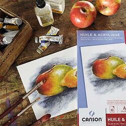 Canson - Canson Oil & Acrylic Paper Pad 290g (1)