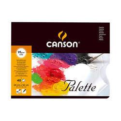 Canson - Canson Palette Kullan At Palet 95g 40 Yaprak 24x32cm
