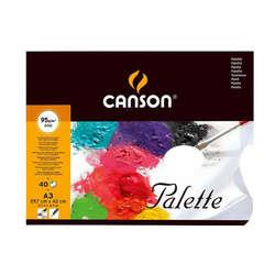 Canson - Canson Palette Kullan At Palet 95g 40 Yaprak A3