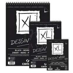 Canson - Canson XL Dessin Noir Siyah Çizim Bloğu