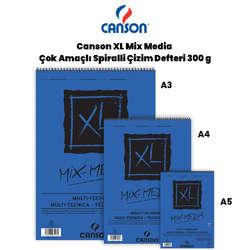 Canson - Canson XL Mix Media Çok Amaçlı Çizim Defteri 300g 15
