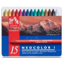 Caran d'Ache - Caran dAche Neocolor I Mumlu Pastel 15li