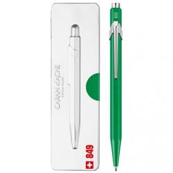 Caran d'Ache - Caran dAche Pop Line Fosforlu Tükenmez Kalem Yeşil