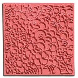 Cernit - Cernit Silikon Desen Kalıbı 9x9cm Bubbles 95011