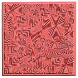 Cernit - Cernit Silikon Desen Kalıbı 9x9cm Spirals 95012