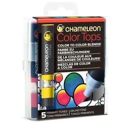 Chameleon - Chameleon Color Tops Marker Kalem 5li Set Prımary Tones