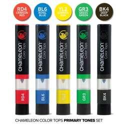 Chameleon - Chameleon Color Tops Marker Kalem 5li Set Prımary Tones (1)