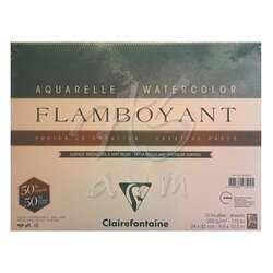 Clairefontaine - Clairefontaine Flamboyant Sulu Boya Blok 250g 24x32cm 10 Yaprak