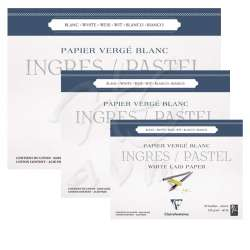 Clairefontaine - Clairefontaine Ingres Pastel Blok 25 Yaprak 130g