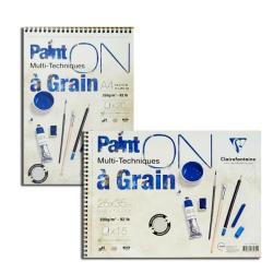 Clairefontaine - Clairefontaine PaintOn Multi-Techniques Teknik Blok Spiralli