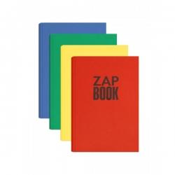 Clairefontaine - Clairefontaine Zap Book Geri Dönüşümlü Ciltli Sketch Defter 80g 160 Yaprak