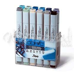 Copic - Copic Marker 12li Set Winter Colors