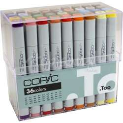 Copic - Copic 36lı Set Basic Colours