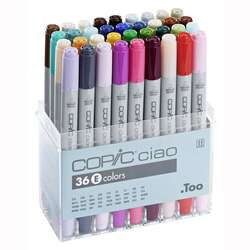 Copic - Copic Ciao Marker 36lı Set E