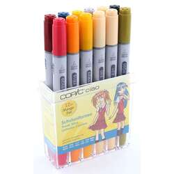 Copic - Copic Ciao Marker 12li Set School Uniforms