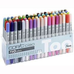 Copic - Copic Ciao Marker 72li Set B