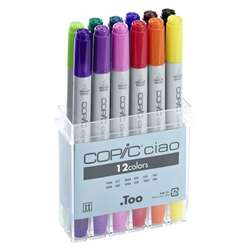 Copic - Copic Ciao Marker 12li Set Basic Colors