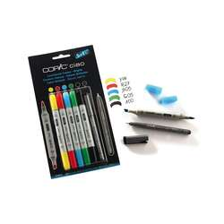 Copic - Copic Ciao Marker Set 5+1 Brights