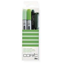 Copic - Copic Doodle Pack 4lü Set Green